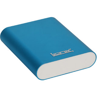Lionix Fast Charging Speed 10400 Mah Power Bank Blue (With 6 Months Manufacturing Warranty)