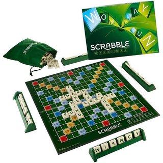 Montez Scrabble Board Game for Bringing Letters and People Together! Board Game Board Game