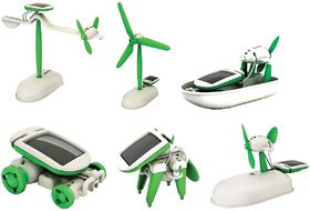 Montez 6 in 1 Educational Solar Toy Game (Green)