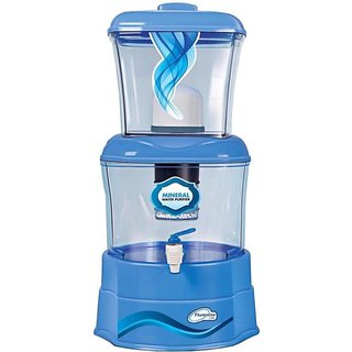 Florentine Homes Clair Mineral Pot Gravity Based 14 Ltr Water Purifier