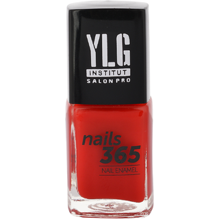 YLG Nails365 RED AS CHERRIES, Crme Nail Paint, 9ml