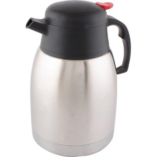 Blue Birds Unbreakable Coffee/Tea Pot 1500 ml Flask  (Pack of 1  Silver)