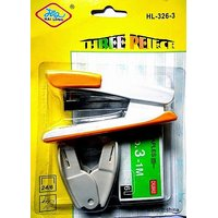 COMBO PACK OF STAPLER WITH STAPLER PINS & STAPLER PIN REMOVER