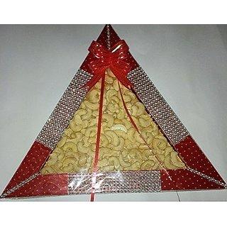 diwali dryfruit decorated tray
