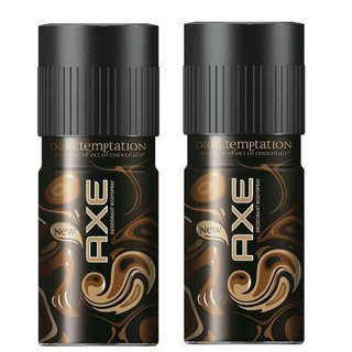 AXE Deodorant Dark Temptation (Combo Pack of 2 Pcs)-150 ML Each