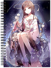 Anime Wirebound Ruled Paper Sheets Personal and Office Stationary Notebooks Diary