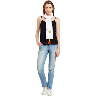 Famous by Payal Kapoor Patch work Scarf