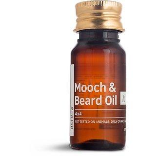 Ustraa Mooch and Beard Oil 4x4 - 35 ml