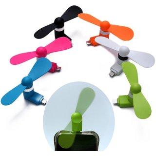 Gadget Deals Mini Portable Micro USB/OTG/Smartphone/Tablet/Mobile Fan  Multicolour