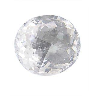 6 25 Ratti Super Quality Natural WHITE Topaz ,Substitute of WHITE Sapphire,  SAFED Pukhraj