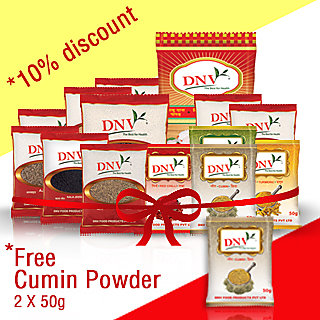 Family Combo Pack 1 - Free 2 packets of 50 gms Jeera Powder