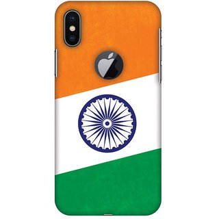 Amzer Designer Case With Logo Cut - One India For IPhone X