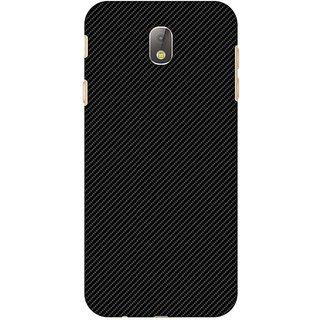 Amzer Designer Case - Carbon Black With Texture For Samsung Galaxy J7 Pro