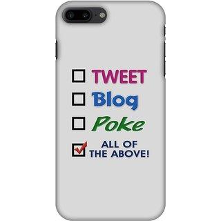 Amzer Designer Case - Tweet For IPhone 8 Plus