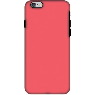 AMZER Hybrid Dual Layer Designer Case - Amaranth Red For IPhone 6
