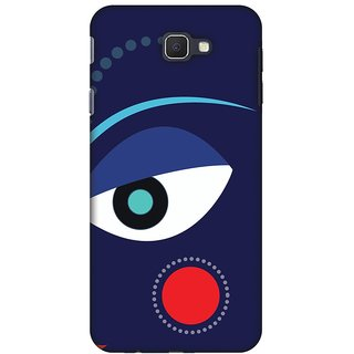 Amzer Durga Puja Designer Cases - Divine Goddess - Blue For Samsung Galaxy J7 Prime