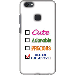 Amzer Designer Case - Cute For Vivo V7 Plus