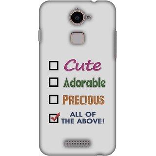 Amzer Designer Case - Cute For Coolpad Note 3 Lite