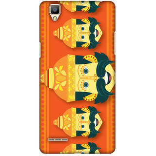 Amzer Dusshera Designer Cases - Mighty Ravana For OPPO F1