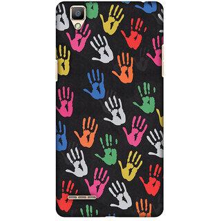 Amzer Designer Case - Colour Palms For OPPO F1