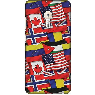 Amzer Designer Case - Flags United For Lenovo ZUK Z2