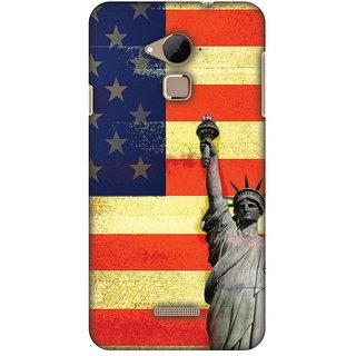 Amzer Designer Case - Rustic Liberty US Flag For Coolpad Note 3
