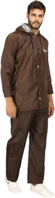 TOKYO High Quality Double layer Brown Unisex Raincoat by PANAZONE E-TAILERSf