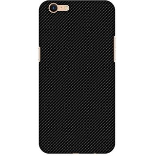 Amzer Designer Case - Carbon Black With Texture For Oppo A39