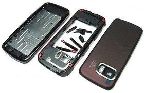 Full Body Housing Panel For Nokia 5800 Red