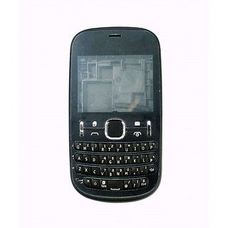Full Body Housing Panel For Nokia Asha 200 Black
