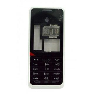 Full Body Housing Panel For Nokia Asha 301 Black
