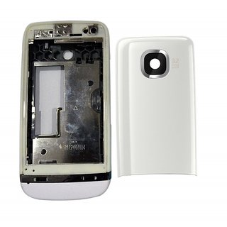 Full Body Housing Panel For Nokia Asha 311 White: Buy Full ...