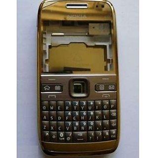 Full Body Housing Panel For Nokia E72 Golden