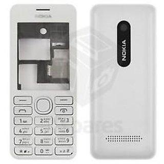 Full Body Housing Panel For Nokia 206 Black