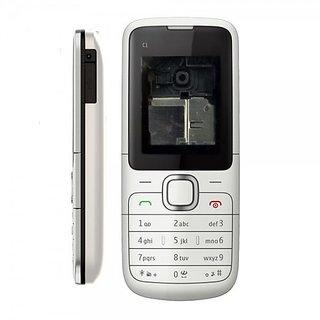 Full Body Housing Panel For Nokia C1-00 White
