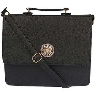 Clementine Black Sling Bag (sskclem229)