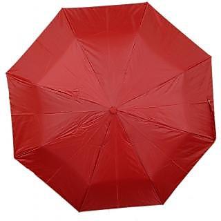 Mistob 3 fold Red umbrella