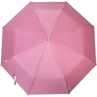 Mistob 3 fold umbrella Peach