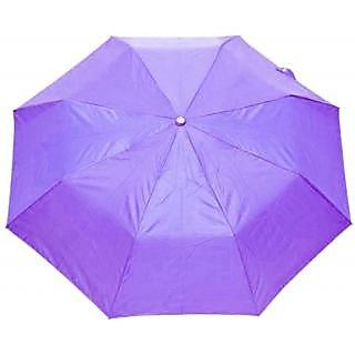 Mistob 3 fold Purple umbrella