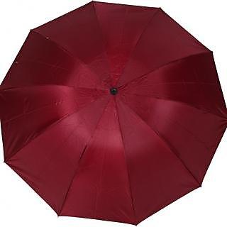 Mistob 3 fold Maroon umbrella