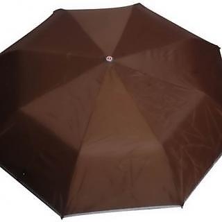 Mistob 3 fold Brown umbrella