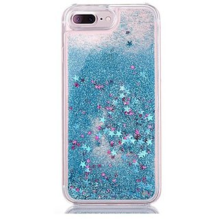 timeless design 66af2 17970 Aeoss iPhone 7 / 7 PLUS Case, iPhone 7 / 7 PLUS Liquid Case, Glitter  Sparkle Bling Flowing Floating Case Cover Fashion