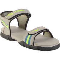 Rod Takes Mens Gray Sport Velcro Floaters