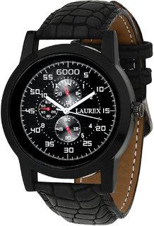 Laurex Analog Round Casual Wear Watches for Men LX-058