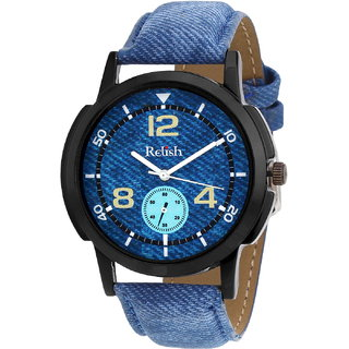 Relish Denim Analog Wear Watch For Men