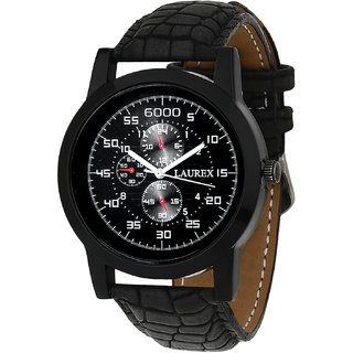 Laurex Analog Round Casual Wear Watches for Men LX-058