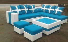 Krishna Furniture Latest Design Sofa Set