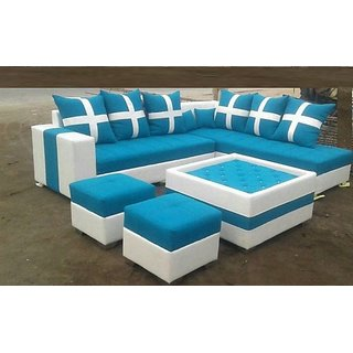 Krishna Furniture Latest Design Sofa Set