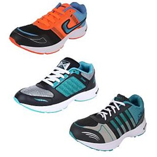 Bersache Men/boys Combo pack of 3 Sports Running Shoes