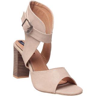 MSC Women's Cream Heels